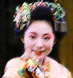 Japanese Geisha hair ornaments